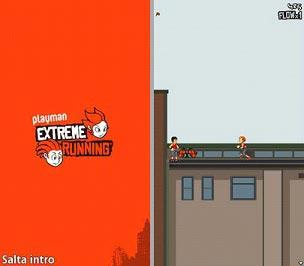 دانلود موبایل بازی اکستریم رانینگ با فرمت جاوا برای موبایل Extreme Running