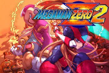 دانلود موبایل بازی مرحله ای و اکشن مگامن Megaman Zero 2