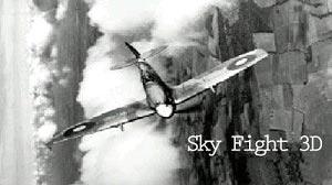 دانلود بازی هواپیمایی برای سیمبین Sky Fight 3D