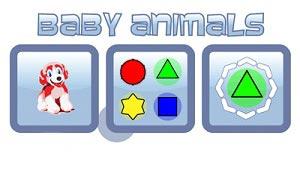 دانلود موبایل بازی حیوانات کوچک برای سیمبین Baby Animals