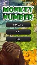 دانلود بازی منطقی اعداد موبایل برای سیمبین Monkey Number