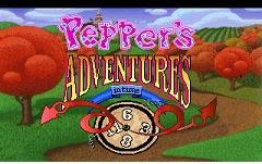 دانلود بازی سرگرم کننده وخنده دار Peppers Adventures In Time برای سیمبین