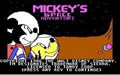 دانلود بازی میکی موس برای سیمبین Mickey's Space Adventure