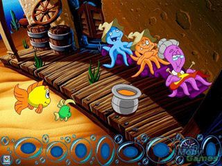 بازی سیمبین فردی فیش Freddi Fish 4: The Case of the Hogfish Rustlers of Briny Gulch