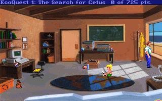 دانلود بازی سیمبین و ماجرایی EcoQuest The Search for Cetus