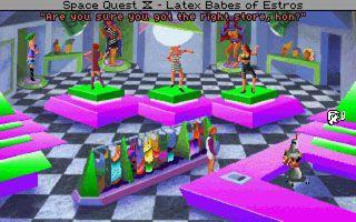 دانلود بازی موبایل اسپیس کوئست چهار برای سیمبین Space Quest 4: Roger Wilco and the Time Rippers