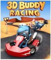 دانلود بازی موبایل جاوا مسابقه ماشین دوستانه سه بعدی buddy racing 3d