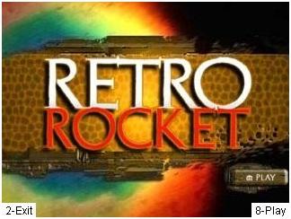 دانلود بازی فضایی عملیات موشکی برای موبایل جاوا retro rocket