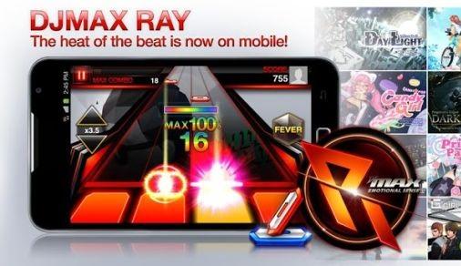 دانلود بازی موبایل اندروید جدید و قشنگ DJMAX RAY با فرمت اندروید