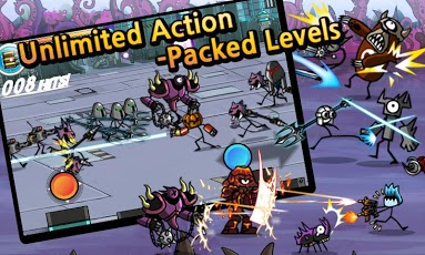 دانلود بازی موبایل اندروید جنگ کارتون ها با فرمت اندروید