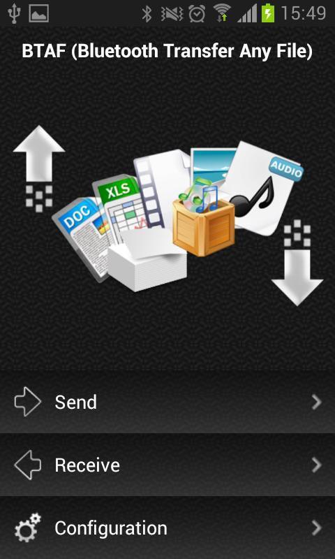 دانلود نرم افزار Bluetooth Transfer Any File برای اندروید