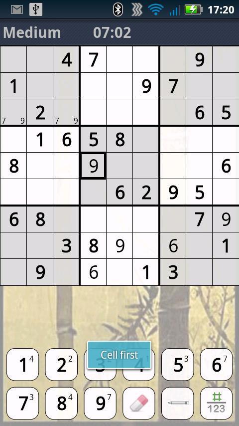 دانلود بازی جدول Sudoku برای اندروید