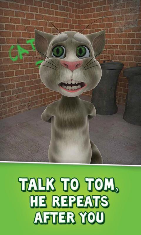 نرم افزار سرگرم کننده Talking Tom Cat