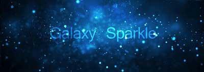 دانلود لایو والپیپر زیبای Galaxy Sparkle برای اندروید
