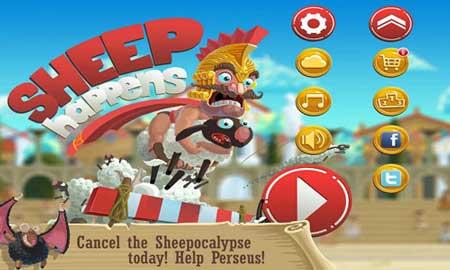دانلود بازی جذاب ماجراهای گوسفندان Sheep Happens 1.5.5 برای اندروید