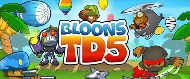 دانلود بازی هیجان انگیز Bloons TD برای اندروید
