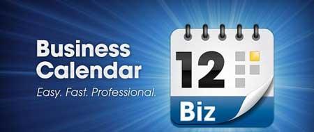 دانلود نرم افزار تقویم Business Calendar برای اندروید
