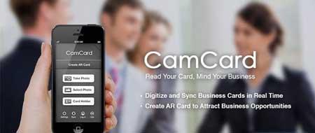 دانلود نرم افزار CamCard – Business Card Reader برای اندروید