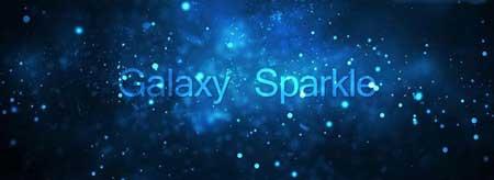 دانلود لایو والپیپر Galaxy Sparkle برای اندروید