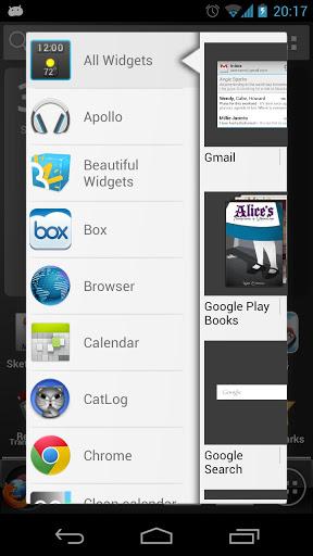 دانلود نرم افزار لانچر زیبا برای اندروید ADW Launcher EX v1.3