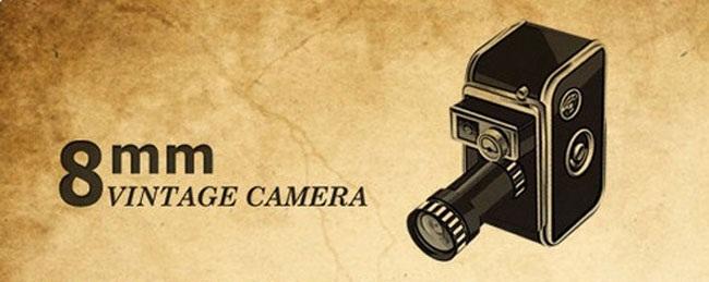 دانلود نرم افزار ویرایش ویدئو و فیلم برای موبایل اندروید Vintage 8mm Video Camera