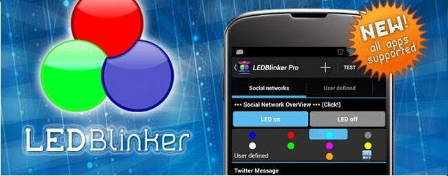 دانلود نرم افزار هشدار دهنده اندروید LED Blinker Notifications v4.6.4 برای اندروید