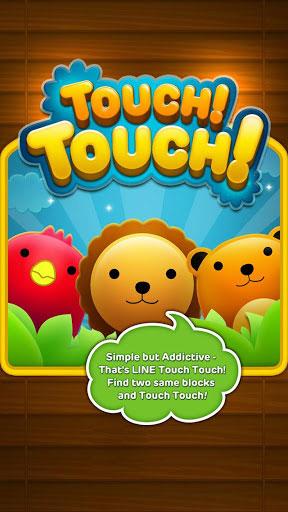 دانلود بازی سرگرم کننده و فکری LINE Touch Touch v1.0.0 برای اندروید