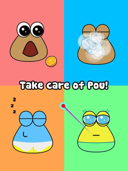 دانلود بازی پو برای اندروید Pou برای موبایل