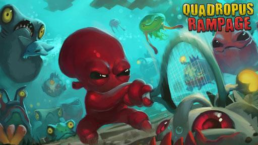 دانلود بازی جالب Quadropus Rampage برای اندروید