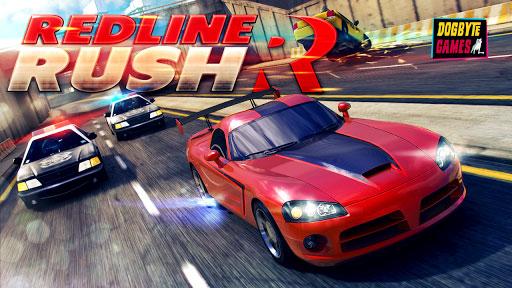 دانلود بازی ماشین سواری قشنگ برای اندروید Redline Rush