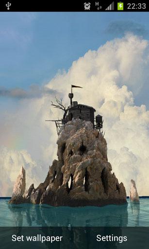 دانلود لایو والپیپر خفن Skull Island 3D Live Wallpaper برای اندروید