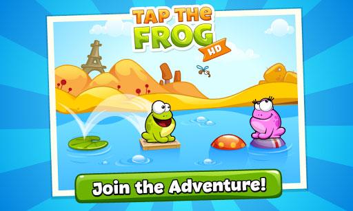 دانلود بازی کلیکی برای موبایل اندروید Tap the Frog HD