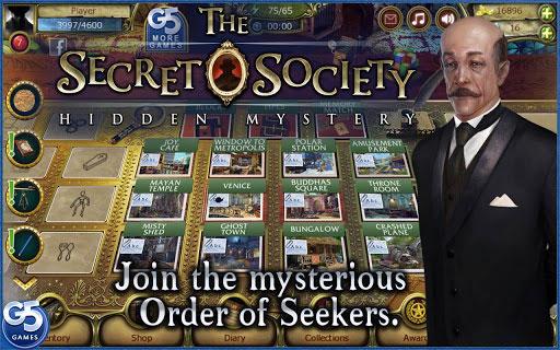 دانلود بازی معمایی و فکری برای موبایل اندروید The Secret Society