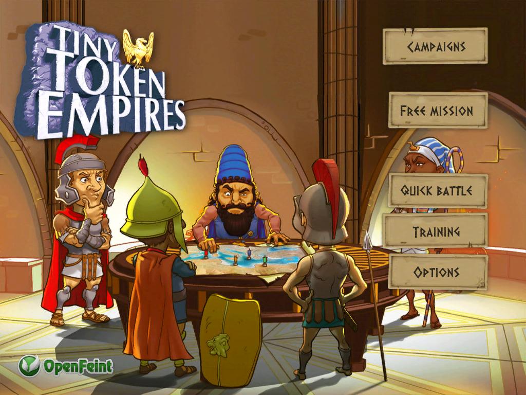 دانلود بازی استراتژیک قشنگ برای موبایل اندروید Tiny Token Empires
