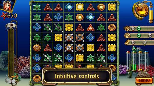 دانلود بازی پازل جدید برای موبایل اندروید Treasures of the Deep v1.0.0