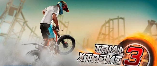 دانلود بازی دوچرخه سواری باحال برای موبایل اندروید Trial Xtreme