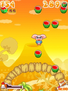 دانلود بازی موبایل فرمت جاوا خوک عصبانی angry pig