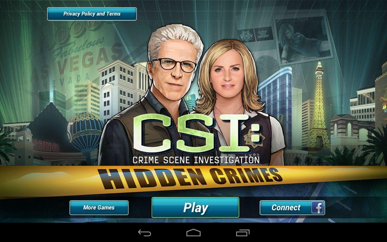 دانلود بازی جرمهای مخفیانه CSI Hidden Crimes برای اندروید