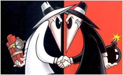 دانلود بازی جاسوسی در مقابل جاسوسی Spy vs Spy برای موبایل اندروید