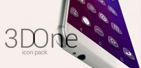 دانلود 3D One Icon Pack 1.1 - بسته آیکون های سه بعدی اندروید