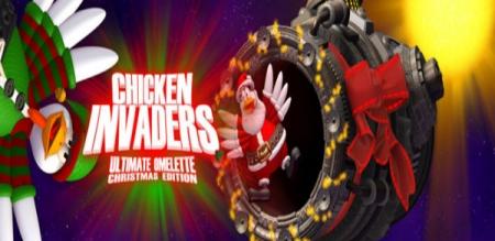 دانلود Chicken Invaders 4 HD 1.12 - بازی اندروید مرغ های مهاجم