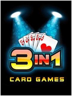 دانلود بازی پوکر و ورق موبایل جاوا سه کارت در یک بازی