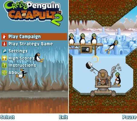 دانلود موبایل بازی هدفگیری قشنگ شلیک پنگوئن ها برای موبایل سیمبیان